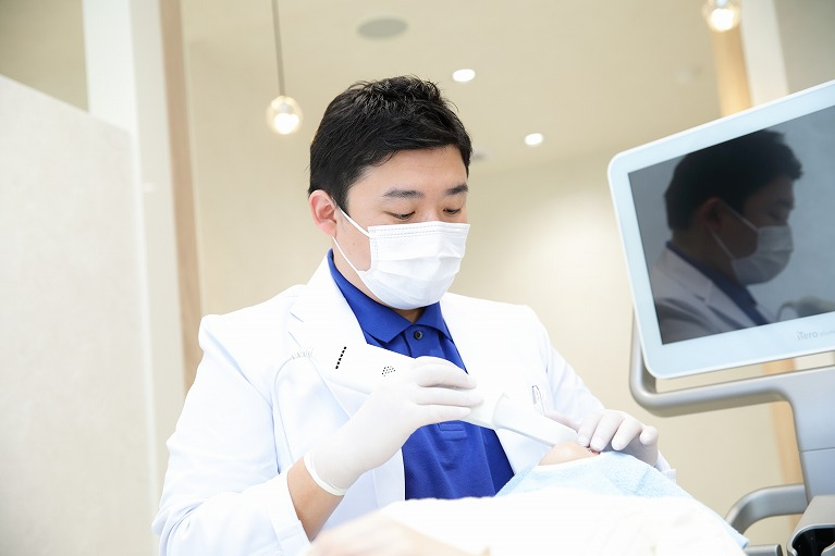 当院は口腔内3Dスキャナー「i Tero element」を導入しています!